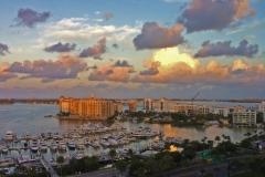 Clouds over Sarasota FL