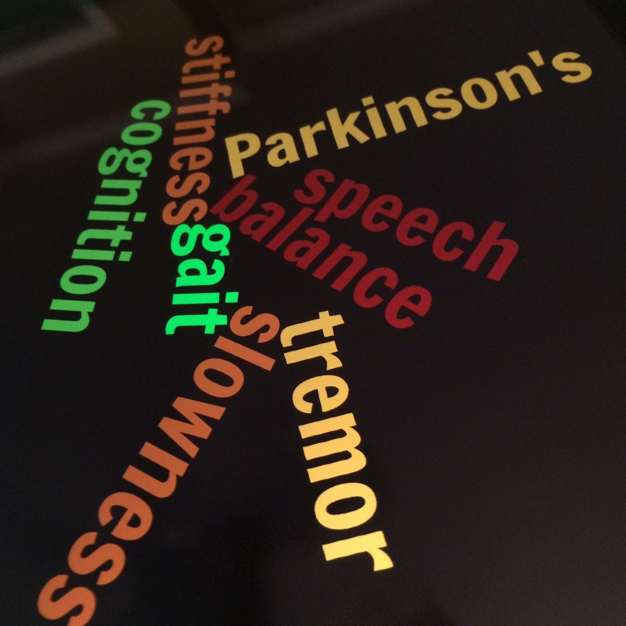 Parkinson's word art!