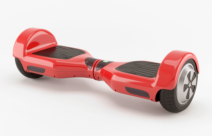 a red hoverboard from iStockphoto