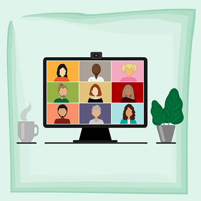Illustration of computer image with multiple human likenesses - istockphoto.com