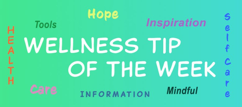 Wellness Tip of the Week banner
