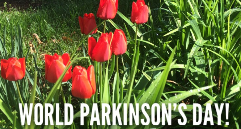 World Parkinson's Day Tulip Photo Karl Robb