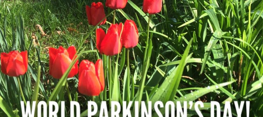 World Parkinson's Day Tulip Photo Karl Robb